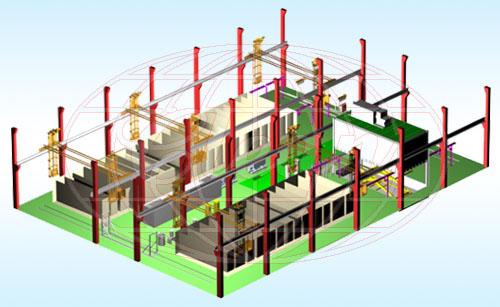 Anodizing Plant 3D Model - Worldclean Industrial Co , Ltd