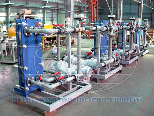 Plate heat exchanger - Worldclean Industrial Co., Ltd.